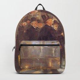 Peder Severin Krøyer - The Men of Industry Backpack