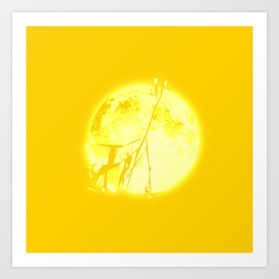 Broken Sun Art Print