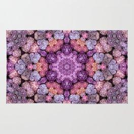 Hydrangea Kaleidoscope Rug