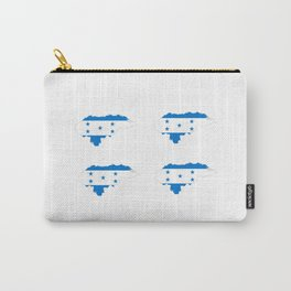 Flag of Honduras 3 -honduran,catracho,tegucigalpa,punta. Carry-All Pouch