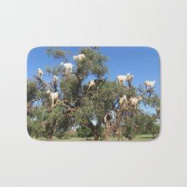 Goats in a tree Bath Mat