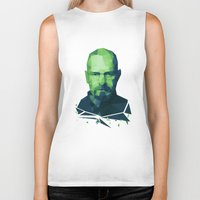 walter white Biker Tanks featuring Walter White by Dr.Söd