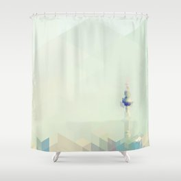 Fernsehturm (Berlin) Shower Curtain