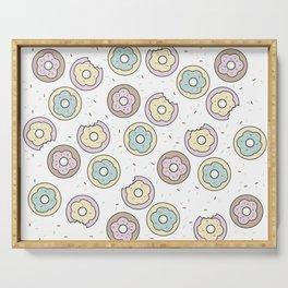 Doughnuts & Sprinkles Serving Tray
