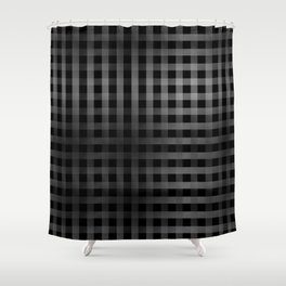 Vertical And Horizontal Stripes Shower Curtain