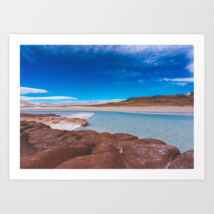 Piedras Rojas (Red Rocks), San Pedro de Atacama Desert, Chile 3 Art Print