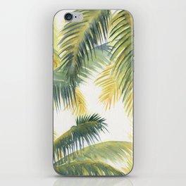Tropical Palm Leaves iPhone Skin