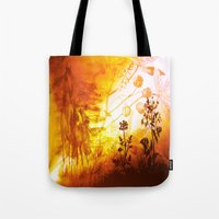 horses Tote Bags featuring Horses by Vitta