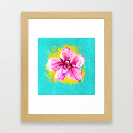 LA FLOR BY AM Framed Art Print