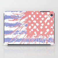 introvert iPad Cases featuring DRENCH.american introvert by instantgaram
