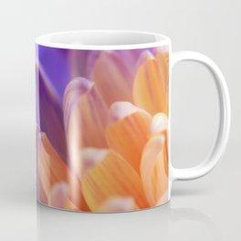 Flower Sunset | cute pastel flower, peach flowers, orange floral pattern, pretty petals, macro Coffee Mug