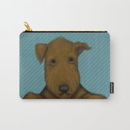 Blue Augie Carry-All Pouch