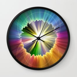 Rip In Time Wall Clock