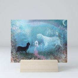 valley ghost Mini Art Print