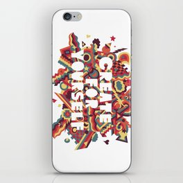 Create For Yourself (1) iPhone Skin