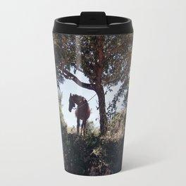 The horse Travel Mug
