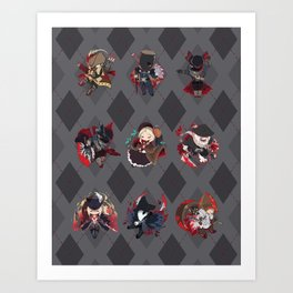 Bloodborne Argyle Art Print