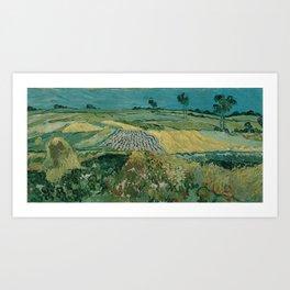 Vincent van Gogh - The Plain of Auvers (1890) Art Print