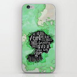 New World Rising - A Book iPhone Skin