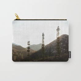 sunset in angeles crest forest Carry-All Pouch