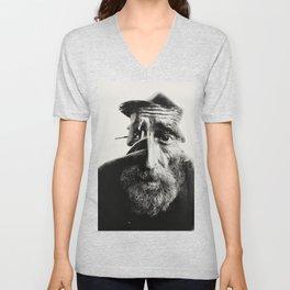 OLD MAN Unisex V-Neck