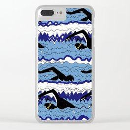 Swimmers Clear iPhone Case