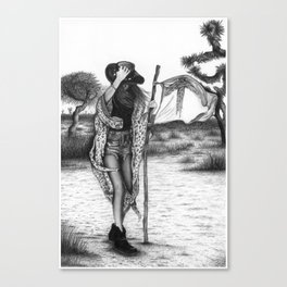 Zephyr (A wind from the West) Canvas Print