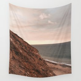 cliff side Wall Tapestry