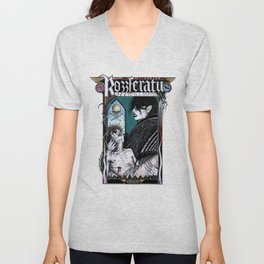 Rozzferatu - Fanart for Rozz Williams Unisex V-Neck