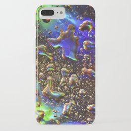 hologram rain iPhone Case