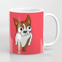 biggie smalls Mugs featuring Biggie by Chris Piascik