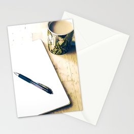 Journal and Tea Stationery Cards