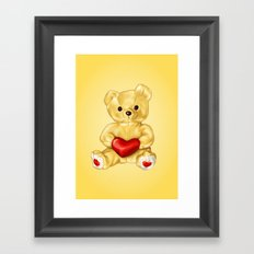 Teddy Bear Hypnotist Framed Art Print