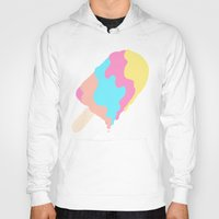 psychadelic Hoodies featuring Popsicle Illusion by Popsicle Illusion