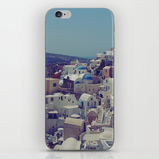 Oia, Santorini, Greece II iPhone & iPod Skin