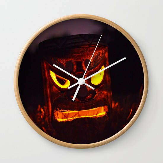 Autumn welcome Wall Clock