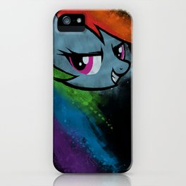 A Dash of Rainbow iPhone Case