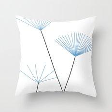 Blätter des Himmels Throw Pillow