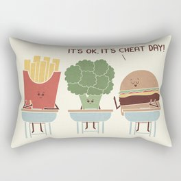 Cheat Day Rectangular Pillow