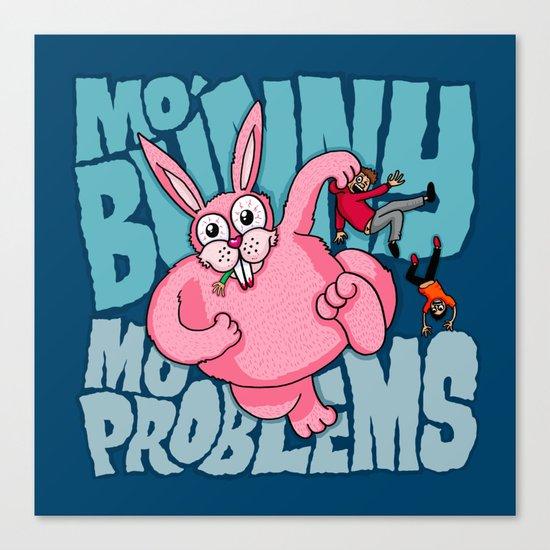 Mo Bunny... Canvas Print