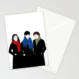 The Witch, the Wizard, and the Warlock Stationery Cards