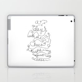 a day with the trees Laptop & iPad Skin