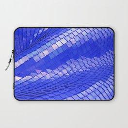 Blue dragon skin Laptop Sleeve