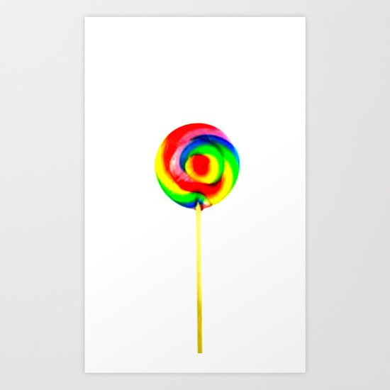 Hard candy Art Print