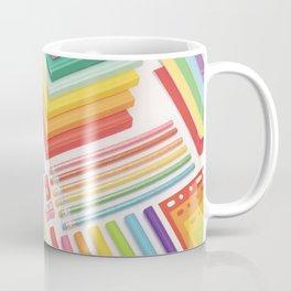 Rainbow office Coffee Mug
