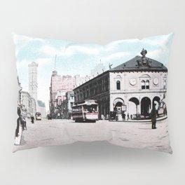 ca 1900 Herald Square New York City Pillow Sham