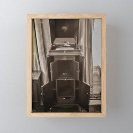 High Fidelity Framed Mini Art Print