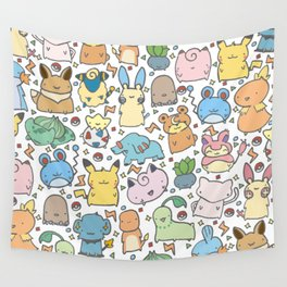 Kawaii Pokémon Wall Tapestry
