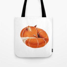 Fox 3 Tote Bag