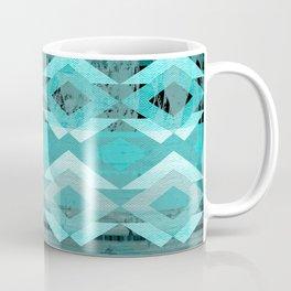 Rustic Tribal Blue Coffee Mug